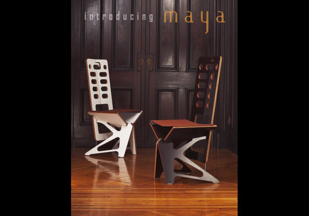 Introducing Maya - The new chair from Folditure.